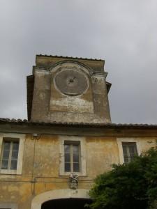 Borgo di SANTA MARIA DI GALERIA-prima del restauro
