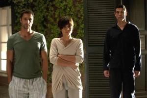 -RESIDENZA AURELIA – Set del Film VIVA L'ITALI-Aambra-Angiolini- raoul-bova-michele-placido-e-alessandro-gassman-