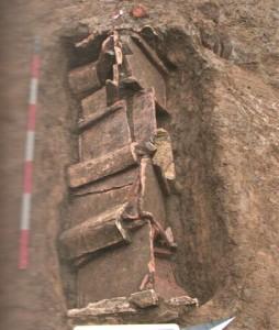 Massimina-Scoperte e ricoperte due tombe del IV-V sec. a. C.