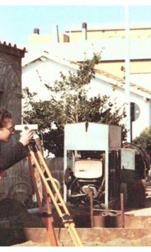 """PASSOSCURO- Foto d'archivio-Lavori di risanamento idro-sanitario eseguiti dall'ACEA e denominati """"Risanamento Borgate Gruppo C"""" – anni '80-"""