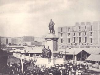 ROMA - 1895 -inaugurazione monumento a CAMILLO CAVOUR