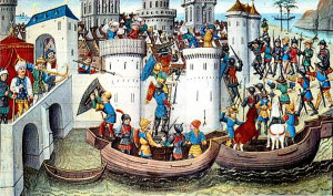 Il-sacco-di-Costantinopoli-miniatura-del-XV-secolo