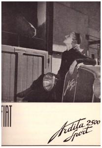 PUBBLICITA in Bianco e Nero 1930