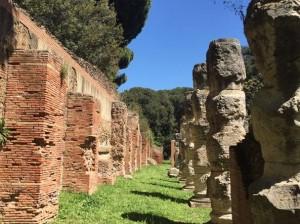 Fiumicino- Porto di Traiano-colonne