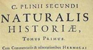 Plinio il Vecchio naturalis