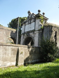 AURELIA ANTICA-ARCO TIRADIAVOLI-visto da Vila Pamphilj