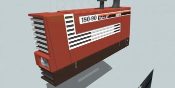 Il Famoso Trattore Fiat 180 90 Abc Vox