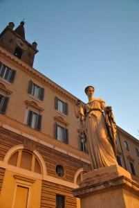 Piazza del Popolo di Roma Capitale