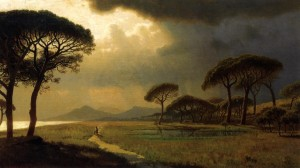 Goethe J.W., Viaggio in Italia -William Stanley Haseltine-Morning LIght,Roman Campagna