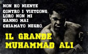 Muhammad Ali, nato Cassius Marcellus Clay Jr. (Louisville, 17 gennaio 1942 – Phoenix, 3 giugno 2016),