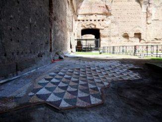 Roma Mosaico Terme di Caracalla