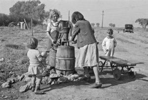 Dorothea+Lange+-+Water+supply,+American+River+camp,+California,+San+Joaquin+Valley,+1936