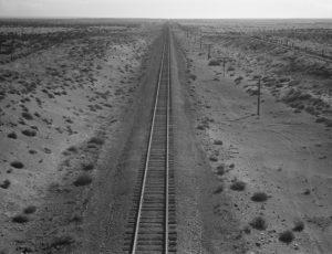 Western Pacific Line, Morrow County, Oregon, 1939 (Dorothea Lange)