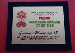 Giornale MUNICIPIO 13 PREMIO CAMPAGNA ROMANA 2016