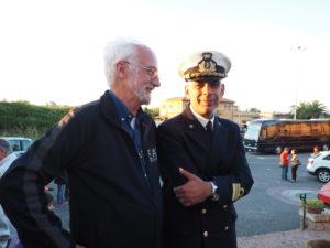 CASTEL DI GUIDO Concerto Banda Marina Militare 21/maggio/'16- Don Luigi BERGAMIN-Maestro Dott. Antonio BARBAGALLO