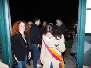 CASTEL di GUIDO-Premio CAMPAGNA ROMANA 2016- Dott.ssa GIUSEPPINA CASTAGNETTA-Presidente Municipio XIII di ROMA CAPITALE e la Poetessa Antonella Proietti