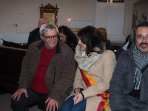 CASTEL di GUIDO-Premio CAMPAGNA ROMANA 2016- Dott.ssa GIUSEPPINA CASTAGNETTA-Presidente Municipio XIII di ROMA CAPITALE e l'organizzatore del Premio Franco Leggeri