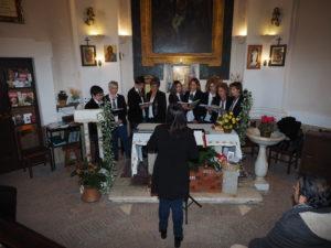 """CASTEL di GUIDO-Premio CAMPAGNA ROMANA 2016- Coro """"DONNE TRA LE NOTE"""" di Cerveteri, direttrice Anna De Santis"""