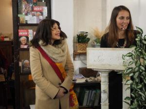 CASTEL di GUIDO-Premio CAMPAGNA ROMANA 2016- Signora VIRGINIA FERRARA e la Dott.ssa GIUSEPPINA CASTAGNETTA-Presidente Municipio XIII-ROMA CAPITALE