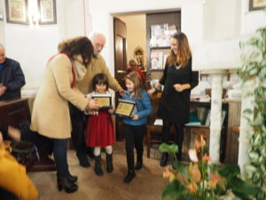 CASTEL di GUIDO-Premio CAMPAGNA ROMANA 2016- Dott.ssa GIUSEPPINA CASTAGNETTA-Presidente Municipio XIII di ROMA CAPITALE