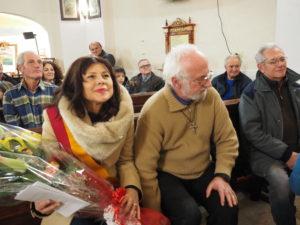 CASTEL di GUIDO-Premio CAMPAGNA ROMANA 2016- Dott.ssa GIUSEPPINA CASTAGNETTA-Presidente Municipio XIII di ROMA CAPITALE e Don Luigi Bergamin- Parroco della chiesa SPIRITO SANTO