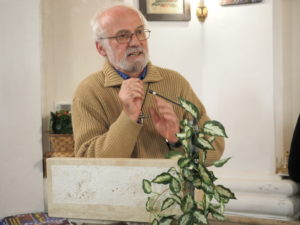 CASTEL di GUIDO-Premio CAMPAGNA ROMANA 2016- Don Luigi Bergamin- Parroco della chiesa SPIRITO SANTO di Castel di Guido ringrazia le Autorità intervenute e tutti i Cittadini.