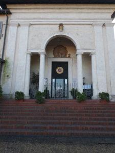 Castel di Guido-Restaurata la scalinata della chiesa dello SPIRITO SANTO