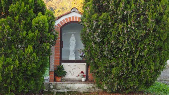 BIVIO DI FREGENE-Edicola Madonnina degli Allevatori-