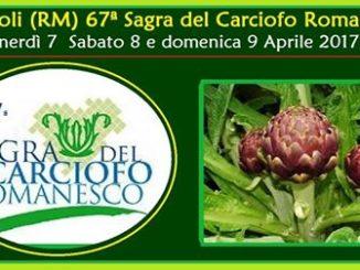 Ladispoli 67a Sagra Carciofo 7-8-9 aprile 2017