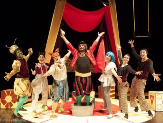 CIRCO PINOCCHIO di Leonardo Angelini diretto da La compagnia dei Giovani del Teatro Vascello