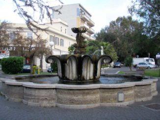 Ladispoli- Fontana del Capitello Piacentini.