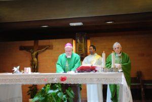 S.E. Mons. GINO REALI -Vescovo di Porto e Santa Rufina e Mons. Diego Bona - ex-Vescovo di Porto e Santa Rufina (1985 - 1994)