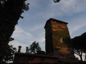 Serbatoi idrici della Campagna Romana- Serbatoio della TORRE della RESIDENZA AURELIA di Castel di Guido
