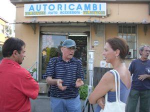 MALAGROTTA – AGOSTO 2009 Cerimonia di consegna del nuovo rilevatore di polveri sottili.