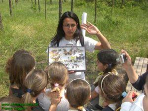 Alessia De Lorenzis Direttrice OASI LIPU Castel di Guido-Lezioni all'aria aperta