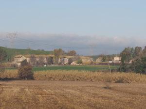 Casale Panphilj sito nel Borgo di Testa di Lepre di Sotto in via dell'Arrone