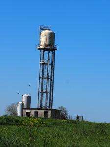 Serbatoi idrici della Campagna Romana- Serbatoio METALLICO di via BRACCIANESE