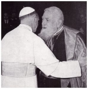 Papa PAOLO VI-S.E. Cardinale EUGENIO TISSERANT