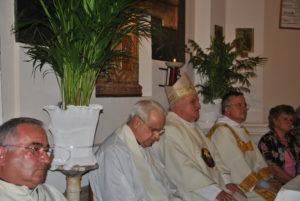 Castel di Guido 19 giugno 2011 -S.E. Monsignor GINO REALI, Don FRANCESCO ARCERI,