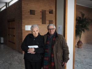 Monsignor Diego Bona , giornalista Franco Leggeri al Convegno FAC