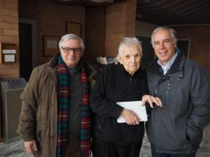 Monsignor Diego Bona , giornalista Franco - Leggeri e il Dott. Mario Moschini al Convegno FAC
