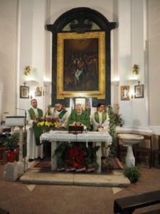 Monsignor Diego Natale Bona-Chiesa Spirito Santo di CASTEL DI GUIDO