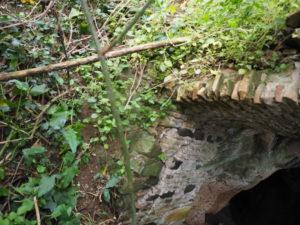 """Roma- Municipio XIII-Tenuta dell'ACQUAFREDDA:"""" tomba etrusca del VII secolo a.C."""""""