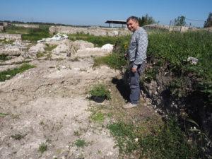 Castel di Guido- - 22 aprile 2017-GAR- Sessione di scavo Villa Romana delle Colonnacce -Mitico LUCA