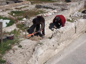 Castel di Guido- - 22 aprile 2017-GAR- Sessione di scavo Villa Romana delle Colonnacce -Ing.LUIGI