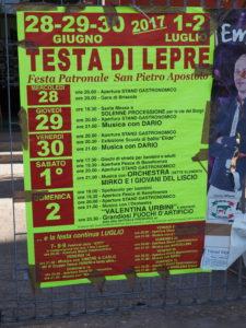 """TESTA di LEPRE-Mostra fotografica """"MEMORIE di VITA"""" . 60 anni della Storia del nostro Borgo"""