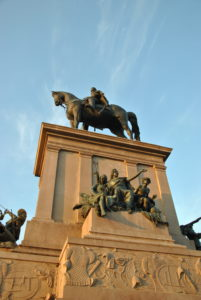 GIUSEPPE GARIBALDI- monumento al Gianicolo -ROMA