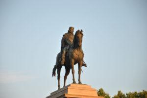 ROMA- Gianicolo- Monumento a GIUSEPPE GARIBALDI