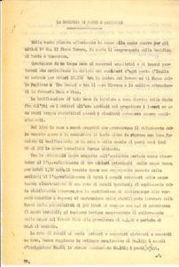"""Rapporto """"velina del 1934 –Anno XII E.F."""""""