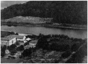 Maccarese -Impianto Idrovore- foto del 1895